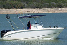 Ray's Striper Fishing Guide Service Lake Buchanan, TX